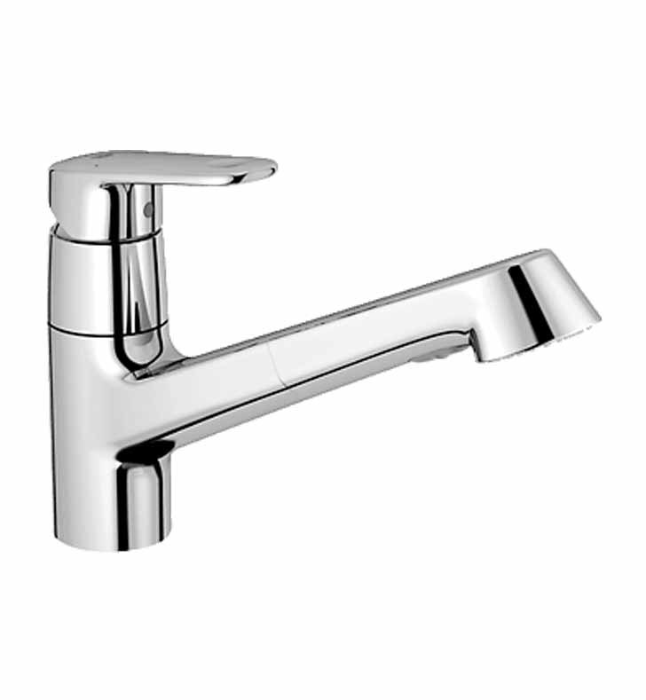 grohe 32946002 europlus dual spray pull out faucet in chrome. Black Bedroom Furniture Sets. Home Design Ideas