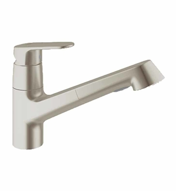Grohe 32946DC2 Europlus Dual Spray Pull-Out Faucet in Super Steel