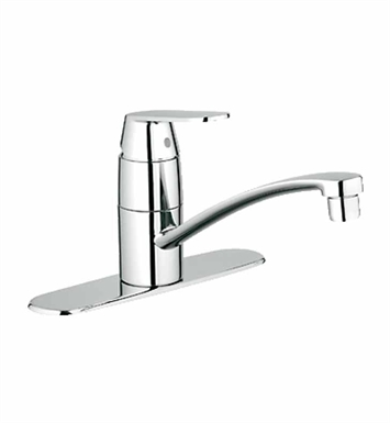 Grohe 31135000 Eurosmart Cosmopolitan Kitchen Centerset with Swivel Spout in Chrome