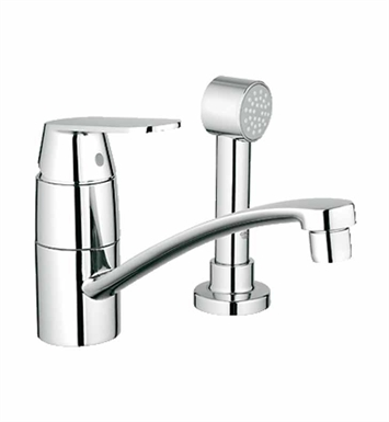 Grohe 31136000 Eurosmart Cosmopolitan Kitchen Centerset with Side Spray in Chrome