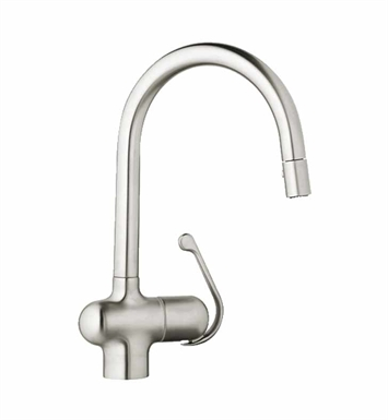 Grohe 32245SD0 LadyLux Pro Dual Spray Pull-Down in Real Steel