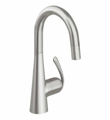 Grohe 32283DC0 Ladylux Dual Spray Pull-Down Faucet in Super Steel
