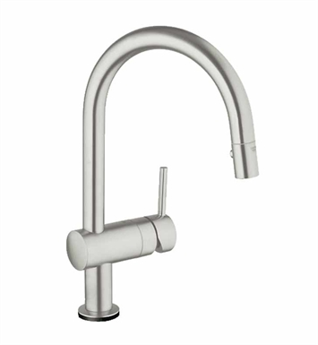 Grohe 31359DC0 Minta Touch Pull-Down Faucet in Super Steel