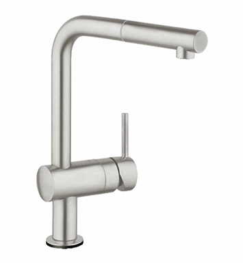 Grohe 30218DC0 Minta Touch Pull-Out Faucet in Super Steel