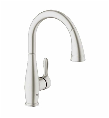 Grohe 30213DC0 Parkfield Dual Spray Pull-Down Faucet in Super Steel