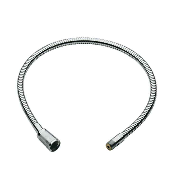 grohe 46104000 europlus metal lavatory hose in chrome. Black Bedroom Furniture Sets. Home Design Ideas