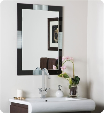 Decor Wonderland SSM525 Francisco Large Frameless Wall Mirror