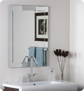 Decor Wonderland SSM526 Francisca Large Frameless Wall Mirror