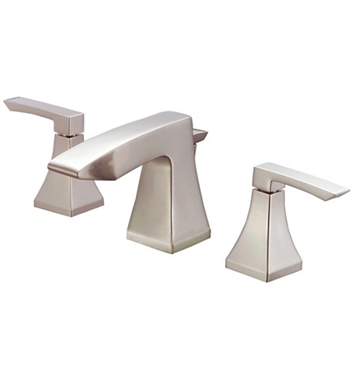 Danze D304036BN Logan Square™ Two Handle Widespread Lavatory Faucet in Brushed Nickel