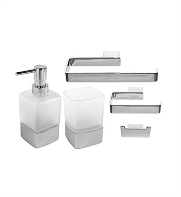 Nameeks LG1400 Gedy Bathroom Accessory Set