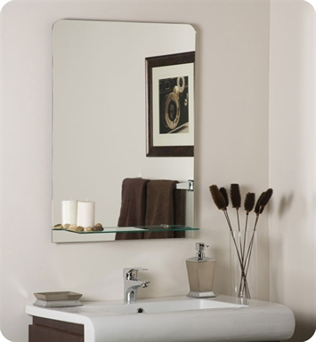 Decor Wonderland SSM114 Columbus Frameless Wall Mirror
