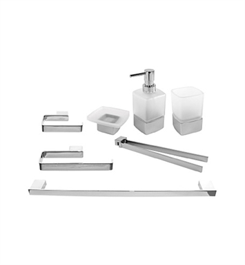 Nameeks LG1900 Gedy Bathroom Accessory Set
