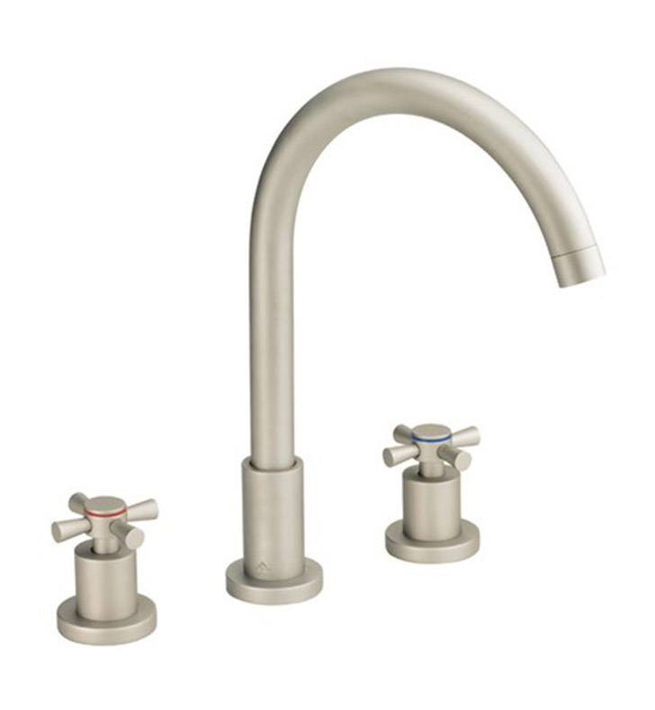 Danze D304059bn Parma Widespread Lavatory Faucet In Brushed Nickel