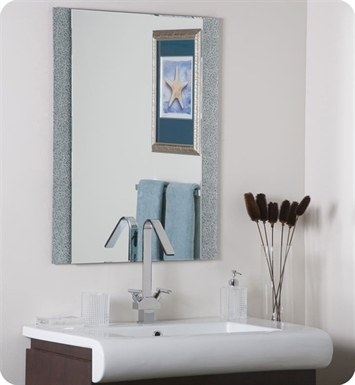 Decor Wonderland SSM5039-1 Dune Frameless Wall Mirror