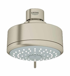 Grohe New Tempesta Cosmopolitan 100 Shower Head in Brushed Nickel