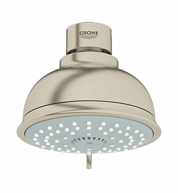 Grohe 27610EN0 New Tempesta Rustic 100 Shower Head in Brushed Nickel