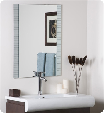 Decor Wonderland SSM5039-3 Sam Frameless Wall Mirror