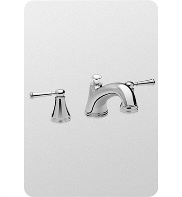 TOTO TB220DD1#PN Vivian™ Deck-Mount Tub Filler Trim with Lever Handles With Finish: Polished Nickel