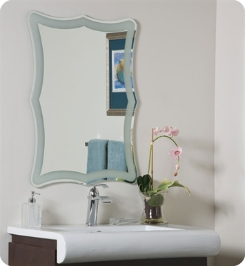 Decor Wonderland SSM183 The Coquette Frameless Mirror