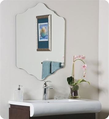 Decor Wonderland SSM211 The Vandam Frameless Mirror
