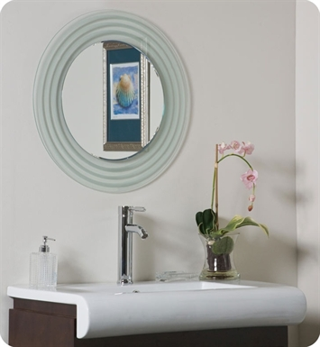 Decor Wonderland SSM9998 Isabella Frameless Wall Mirror