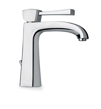 LaToscana 89PW211 Lady Single Handle Lavatory Faucet in Brushed Nickel