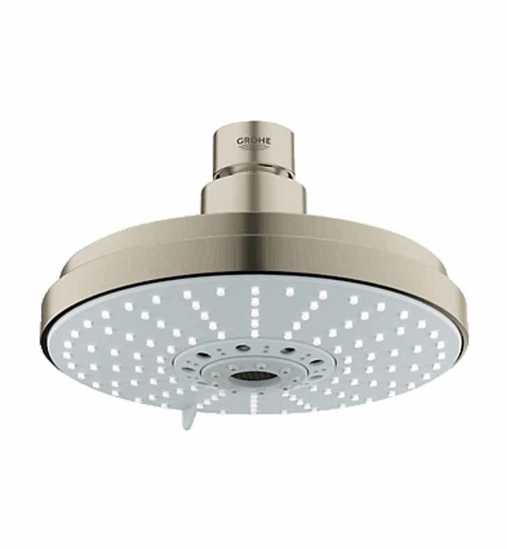 grohe 27135en0 rainshower cosmopolitan 160 shower head in. Black Bedroom Furniture Sets. Home Design Ideas