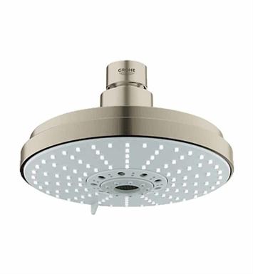 grohe 27135en0 rainshower cosmopolitan 160 shower head in brushed nickel. Black Bedroom Furniture Sets. Home Design Ideas