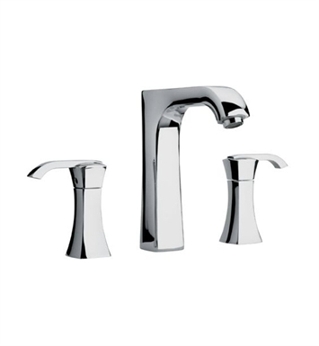 "LaToscana 89PW214 Lady Widespread Lavatory Faucet 8"" in Brushed Nickel"