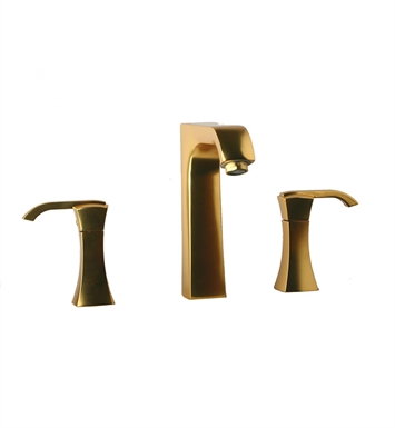 LaToscana 89OK214 Lady Widespread 8 inch Lavatory Faucet in Satin Gold