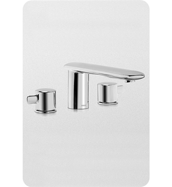 TOTO TB416DD#BN Aquia® Deck-Mount Tub Filler Trim With Finish: Brushed Nickel