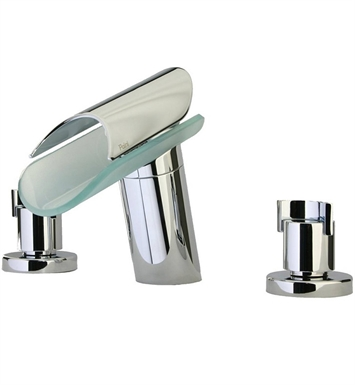 LaToscana 73CR214VR Morgana Widespread Lavatory Faucet in Chrome
