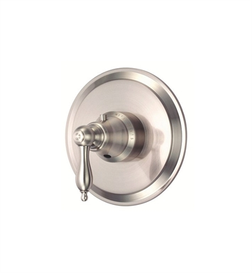 "Danze D562040BNT Fairmont™ Single Handle 3/4"" Thermostatic Shower Valve Trim Kit in Brushed Nickel"