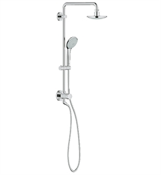 Grohe Retro-Fit Bundle Euphoria Shower Set in Chrome