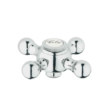 Grohe 45291000 Sinfonia Cross Handle in Chrome