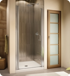 Fleurco E Banyo Sevilla Semi Frameless In Line 64 Pivot Shower Door