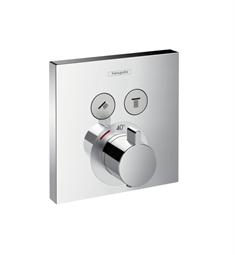Hansgrohe 15763 ShowerSelect E Thermostatic 2 Function Trim