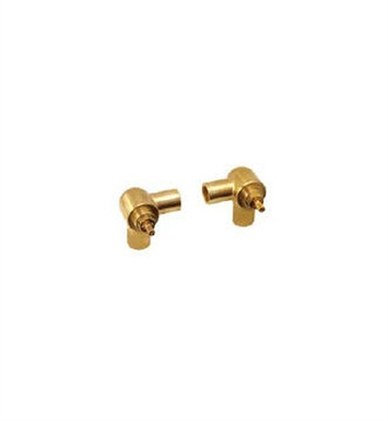 Santec SA-CORNER-SET Wall Mount Widespread Lavatory Set Valves