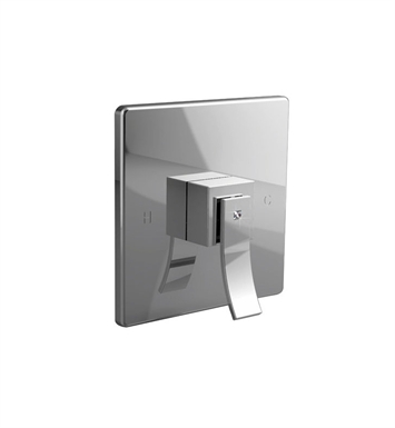 Santec 9931CR14-TM Ava Crystal  CR Style Handle with Shower Plate With Finish: Gunmetal Gray <strong>(USUALLY SHIPS IN 2-4 WEEKS)</strong> And Configuration: Trim Only