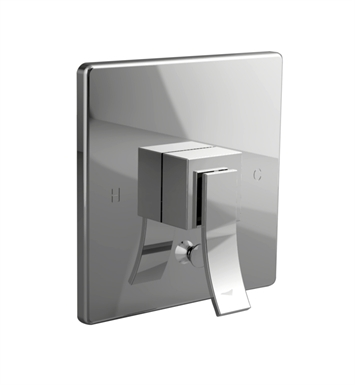 Santec 9935CU88-TM Ava CU Style Handle with Diverter & Plate With Finish: Bright Pewter <strong>(USUALLY SHIPS IN 2-4 WEEKS)</strong> And Configuration: Trim Only