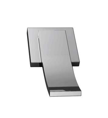 Santec DT2-CU15-TM Ava CU Style Wall Mount 2 Way Diverter Trim With Finish: Satin Chrome <strong>(USUALLY SHIPS IN 1-2 WEEKS)</strong>