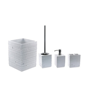 Nameeks QU900-02 Gedy Bathroom Accessory Set