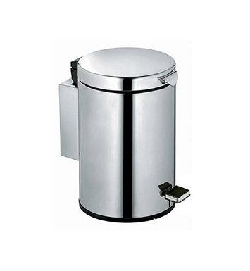 Keuco 14977170000 Plan Sanitary Waste Bin With Finish: Aluminium