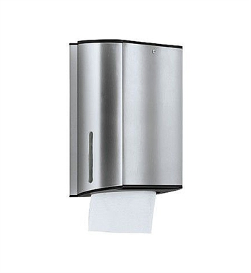 Keuco 14985070000 Plan Paper Towel Dispenser With Finish: Stainless Steel