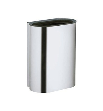 Keuco 14988010000 Plan Waste Bin With Finish: Chrome Plated