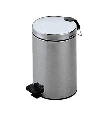 Keuco 04988170000 Plan Waste Bin With Finish: Aluminium