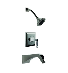 Santec Edo Crystal 9234DC Pressure Balanced Tub-Shower Set with DC Style Handles