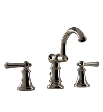 Santec 6520VO80 Vogue Widespread Lavatory Set with VO Style Handles With Finish: Standard Pewter <strong>(USUALLY SHIPS IN 2-4 WEEKS)</strong>