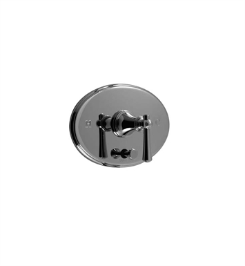 Santec 6535VO15-TM Vogue VO Style Handle with Diverter & Plate With Finish: Satin Chrome <strong>(USUALLY SHIPS IN 1-2 WEEKS)</strong> And Configuration: Trim Only