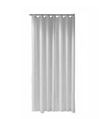 "Keuco 14946000120 Plan Shower Curtain Maxxi With Configuration: Size: 70 7/8"" x 70 7/8"" 